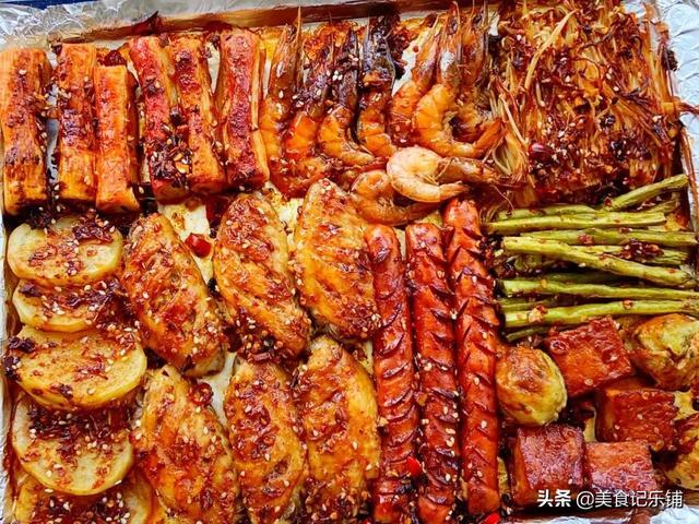 不出门吃烧烤系列——一个烤箱让你吃到烤鸡烧烤以及脆皮五花肉