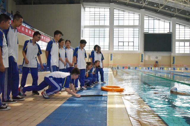 渭南初级中学开展防溺水教育活动