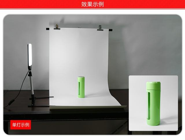 图立方LED摄影灯PT-22AC摄像补光灯淘宝拍照柔光灯小型静物