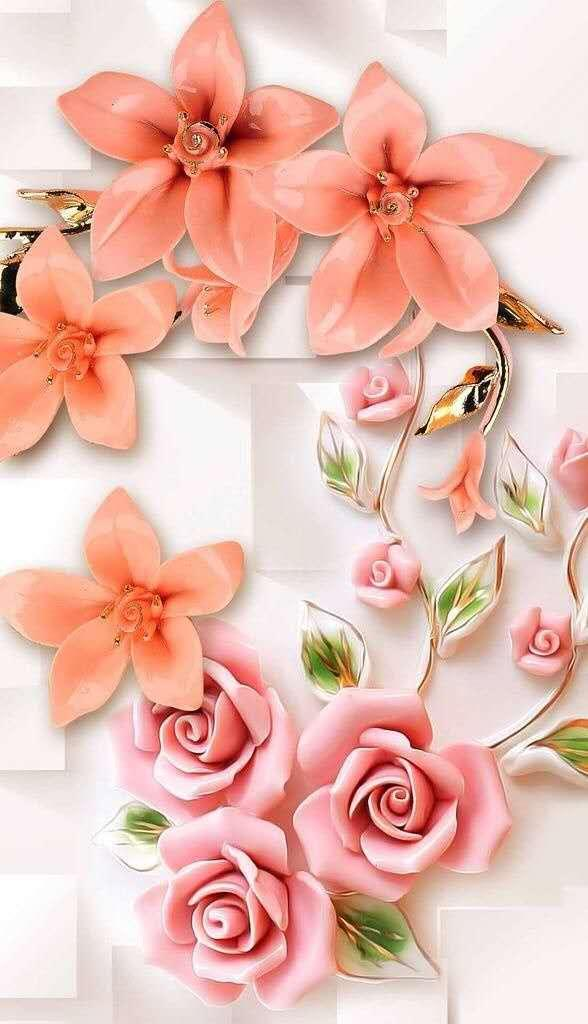 粉色花朵手机壁纸