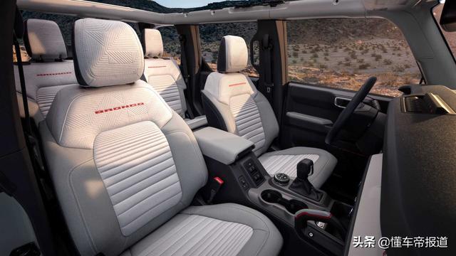 新车   福特硬派越野车Bronco发布 强悍外观/复古+科技内饰