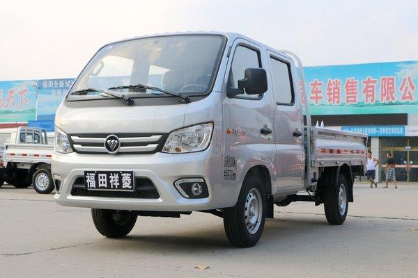 福田小双排微型小货车
