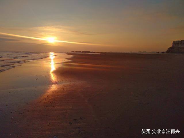 「图集」走过他乡,福建长乐,南澳海滩的沙,还真的是沙