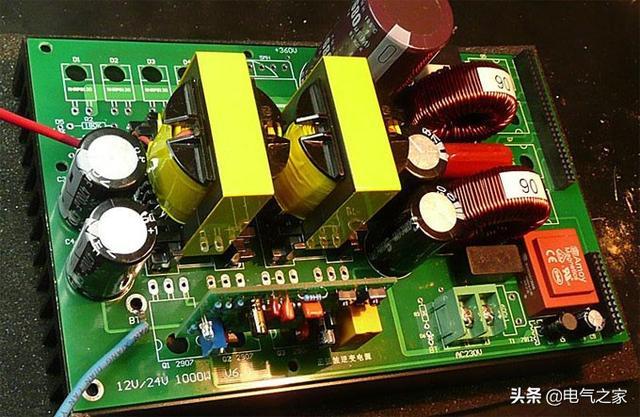 用SG3525逆变器12v转220v的电路图?