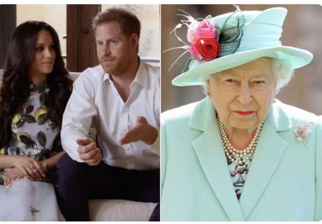 哈里王子梅根高甜