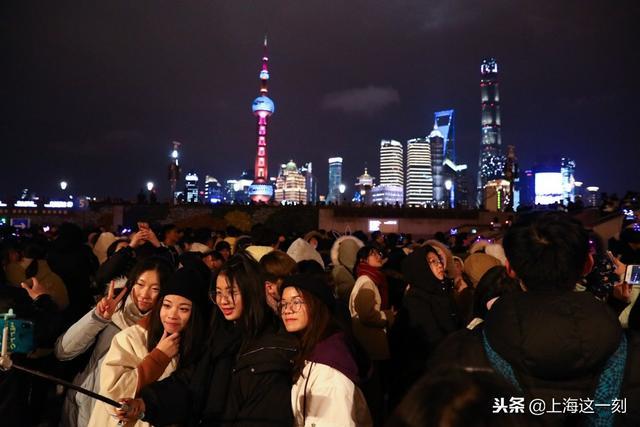 2018年上海外滩照片