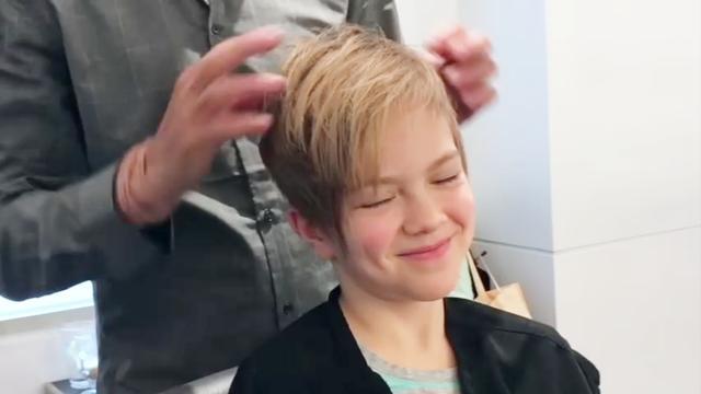 小女孩6-12岁短碎发