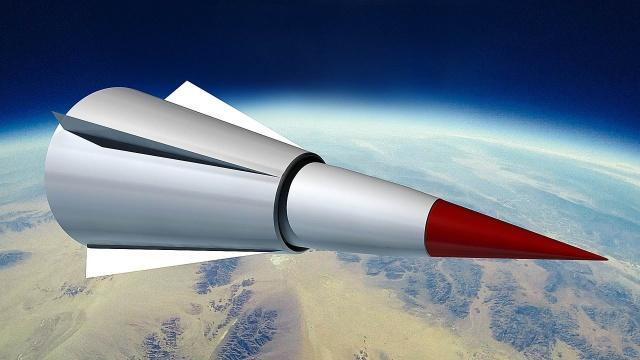 西北上空高速划过,我国高超音速飞行器试飞成功,还可回收重复用