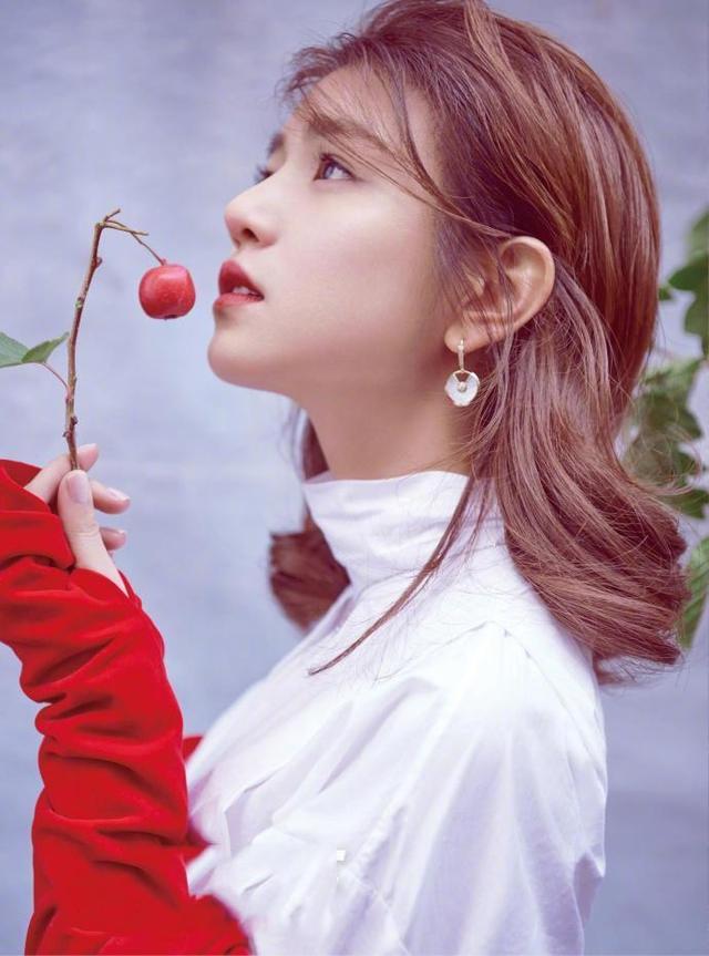 陈妍希终于没有得罪造型师,原来她可以美成这样