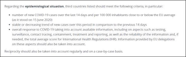 欧盟正式公布重新开放入境国家名单:没有美国,也没有中国