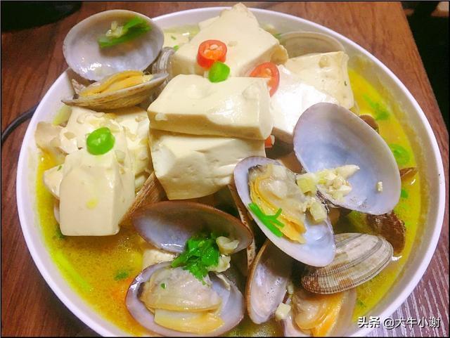 花甲豆腐味噌汤怎么做_花甲豆腐味噌汤的做法_你的... _豆果美食
