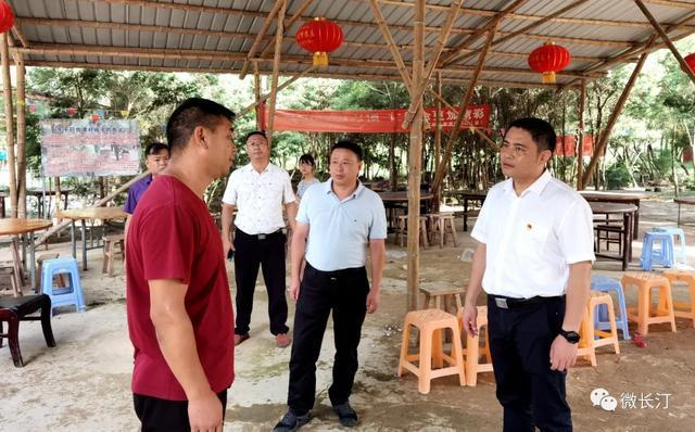 长汀县领导调研乡村振兴工作
