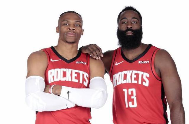 曝哈登近況良好!將和威少一起參加復賽,兩位MVP帶領火箭衝擊冠軍!-籃球圈