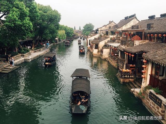 西塘古镇夜景图片
