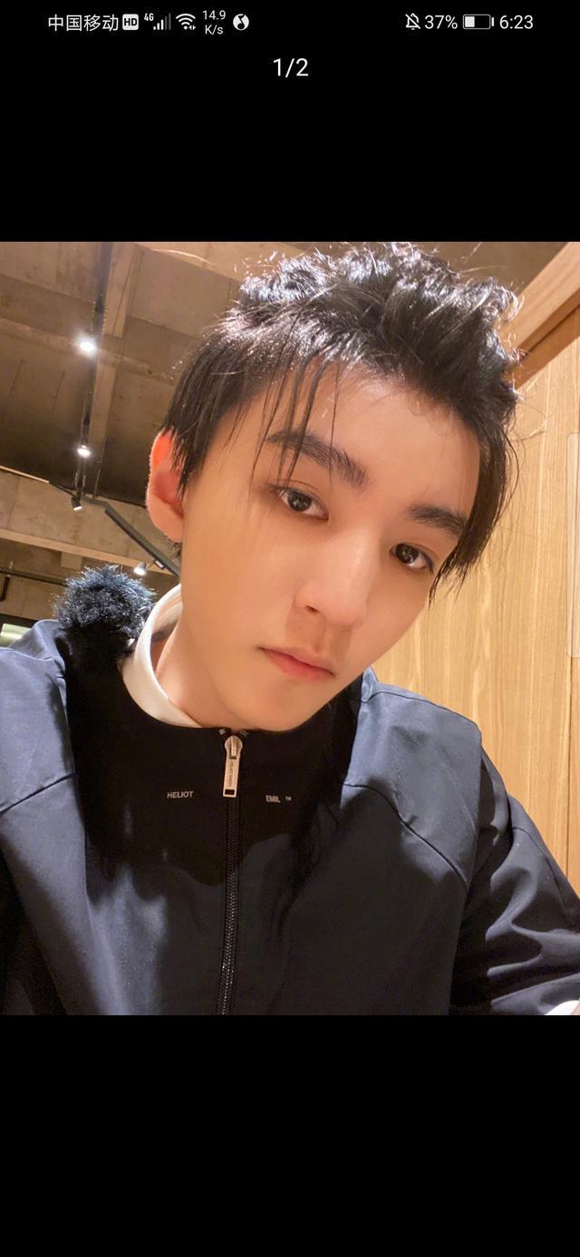 王俊凱更新自拍,濃眉大眼顏值超絕,網友卻直呼欣賞不來