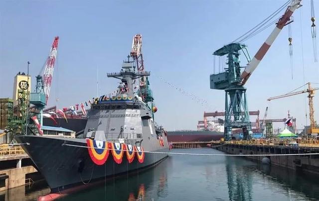 """摆脱""""老爷舰""""!菲律宾首艘导弹护卫舰正式入列"""