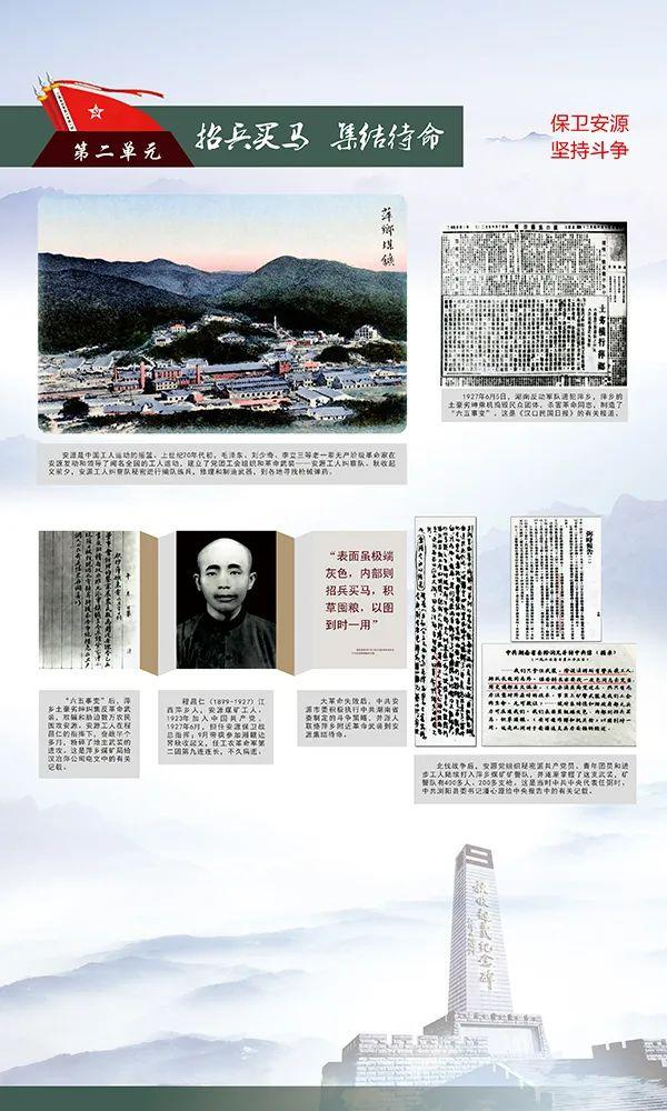 新展资讯 | 湘赣边界秋收起义历史图片展
