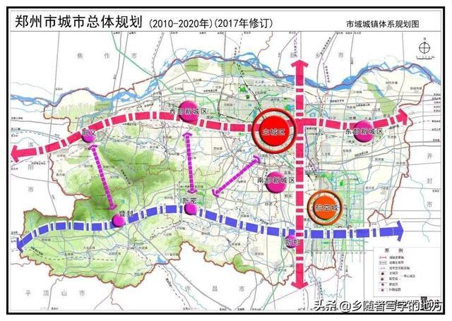 郑州市交通地图
