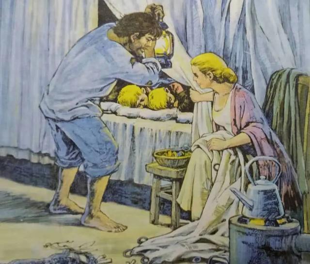 「怀旧向」收集60幅小学课文里的高清彩色插图,你能记起几个?