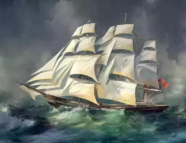 南湖一大红船图片绘画