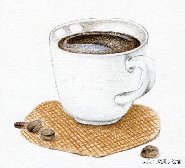 这么爱喝咖啡,你会画吗?