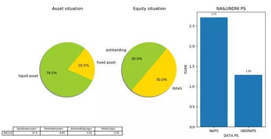 Python進行企業資產狀況分析