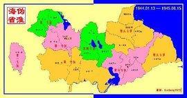淮海省地图