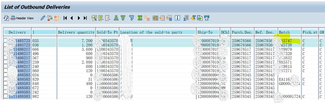 「SAP技术」SAP SD微观研究之根据SO查询到该订单发货的批次