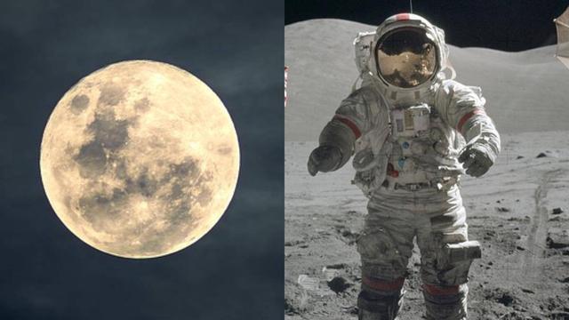 一组月球上的照片,月球并没有我们看到的这么美丽!