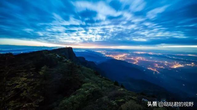 美丽中国之乐山风光