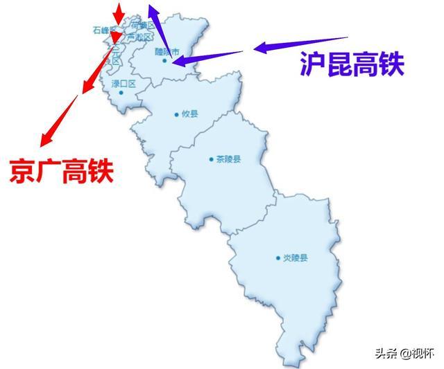 湖南株洲高铁:错失双十字格局,攸县、茶陵等3县仍是高铁空白