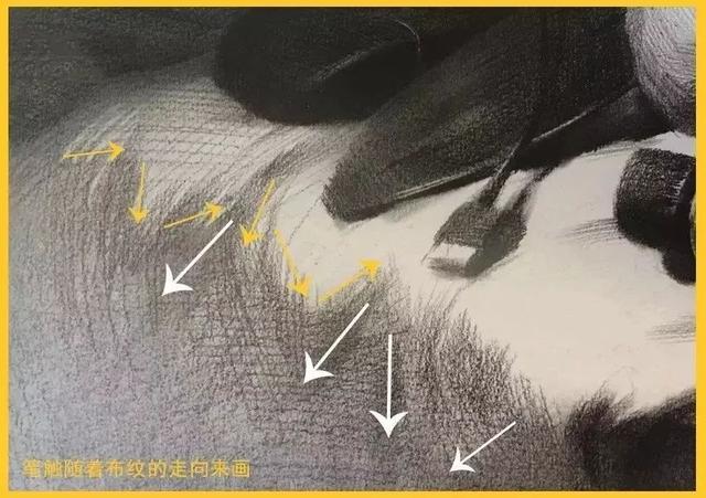 新手素描衬布的画法