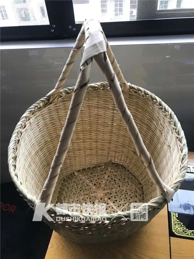 铝材做仿竹篮编