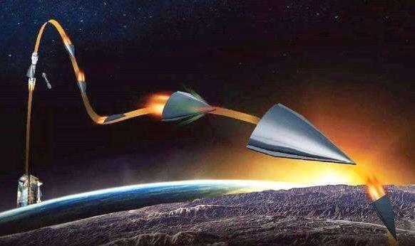 """中国首款""""太空无人机"""":代号无侦8,能在大气层边缘""""打水漂"""""""