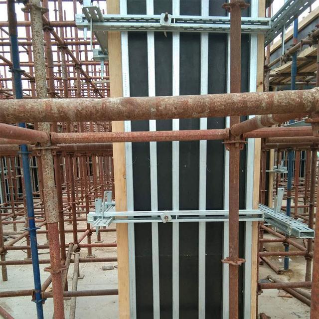 新型剪力墙钢背楞系统代替传统木方支撑的价值