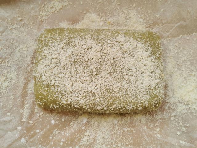 无需烤箱!薄荷叶子用来做糯米糕,软糯香甜,清凉解暑,拿肉不换