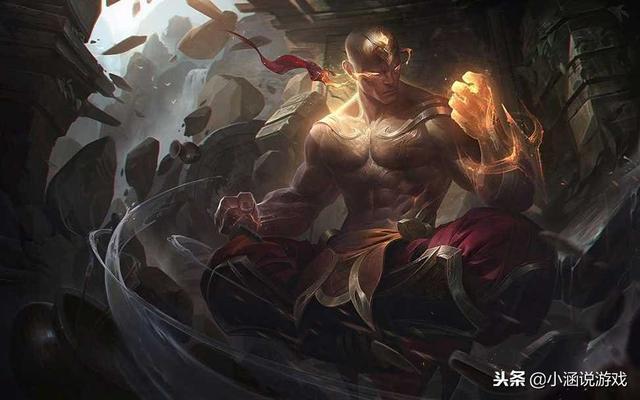 LOL神拳李青高清原画壁纸下载 动态壁纸帅晕你的眼_ZAKER资讯