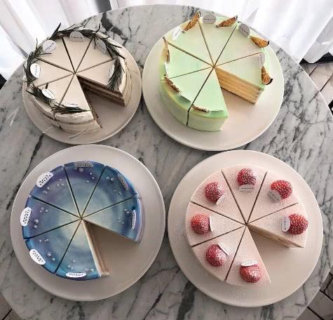 女生看到就想買的蛋糕,顏值一個賽一個,最后一款射手座最愛
