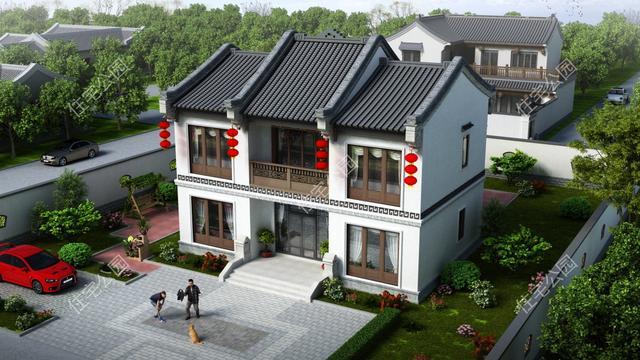 农村自建房如何做布局设计?这样设计不会错 - 住宅在线