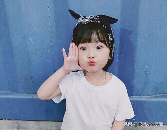 韩国最红小孩表情包
