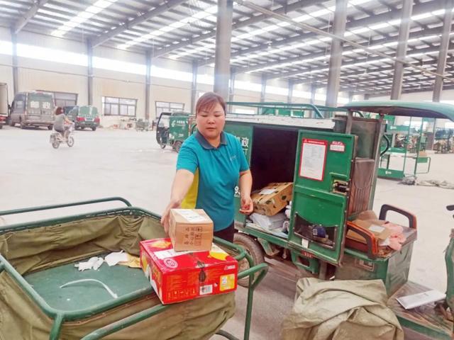 新乡王浩敏:奉献在一线的女乡邮员