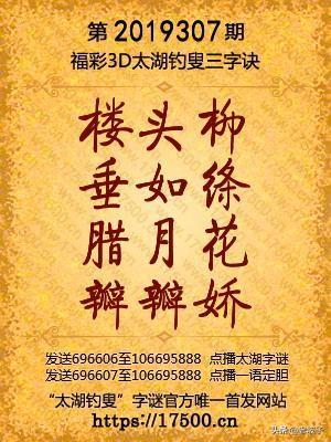 今日福彩3d太湖神字图