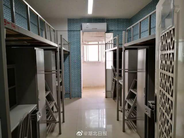 这些武汉高校宿舍,临时征用