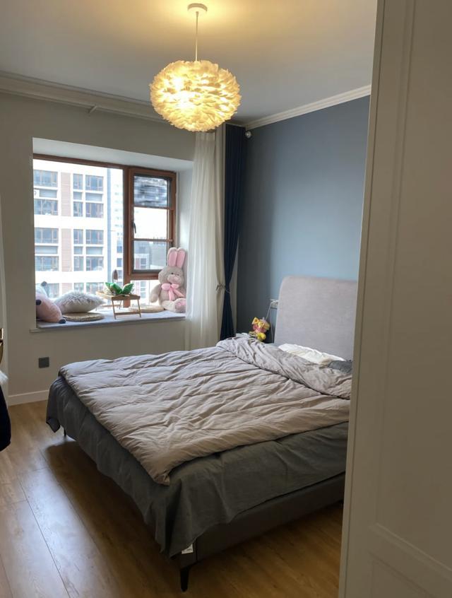 18万装修一套78 ㎡的小两居,雾霾蓝配高级灰,配出不一般的感觉