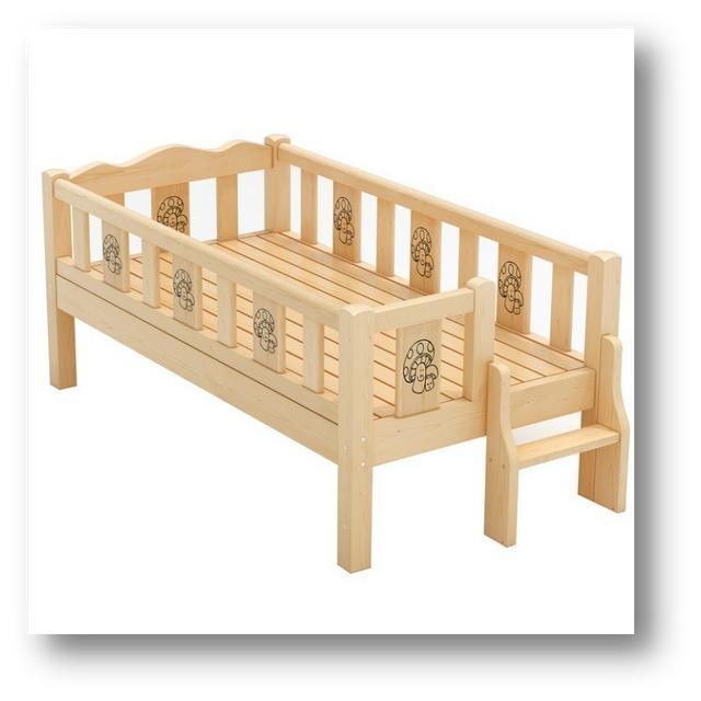 晓晓DIY:晓晓做了一个卡通的床,睡上去估计会很舒服