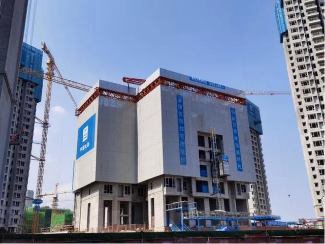 大型自动化机器造楼,三天一层,国产「住宅造楼机」投用