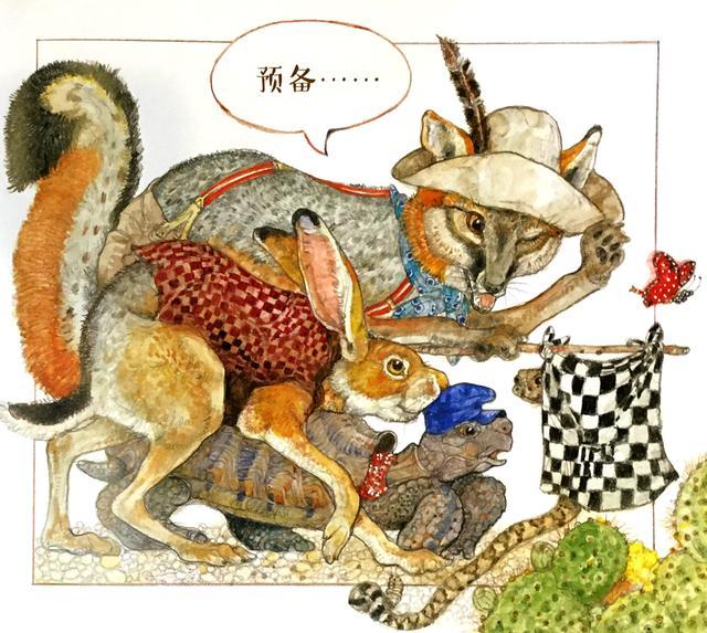 龟兔赛跑铅笔画图片_学习啦