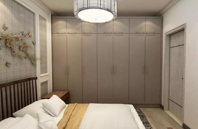 为衣柜选择合适的柜门,让你家卧室更有格调,这些都不错