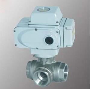 珀蓝特专业供应三通球阀 电动三通球阀 价格实惠 售后保修2年