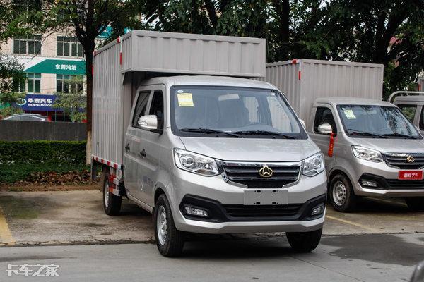 【货车】小型货车(轻型)客货两用双排座货车5吨以... _中国汽车网